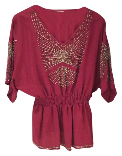 Preload https://item1.tradesy.com/images/red-blouse-size-6-s-10438495-0-1.jpg?width=400&height=650