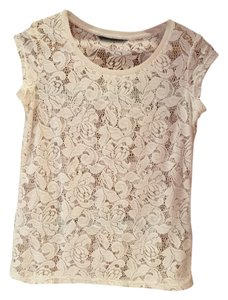 Dorothy Perkins T Shirt Cream