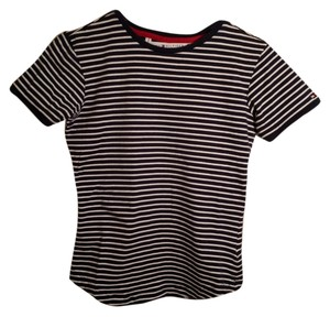 Tommy Hilfiger T Shirt Navy/white stripe