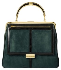 Balmain x H&M Green Messenger Bag