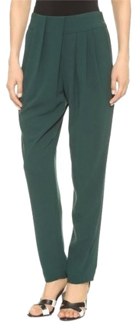 Preload https://item5.tradesy.com/images/l-agence-green-new-womens-drape-teal-relaxed-fit-pants-size-10-m-31-10438684-0-1.jpg?width=400&height=650