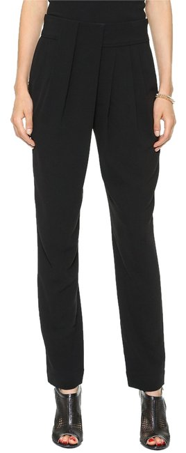 Preload https://item3.tradesy.com/images/l-agence-black-new-womens-drape-relaxed-fit-pants-size-10-m-31-10438777-0-1.jpg?width=400&height=650
