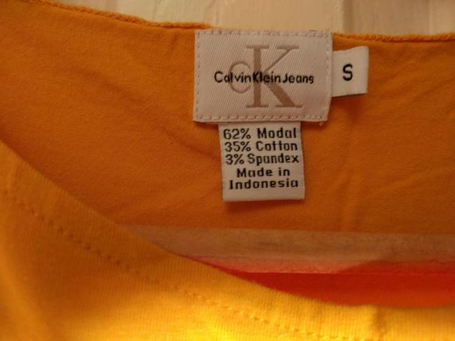 Calvin Klein Summer Top Mustard yellow