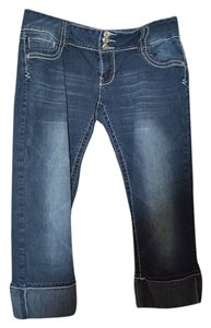 Angels Jeans Capri/Cropped Denim-Light Wash