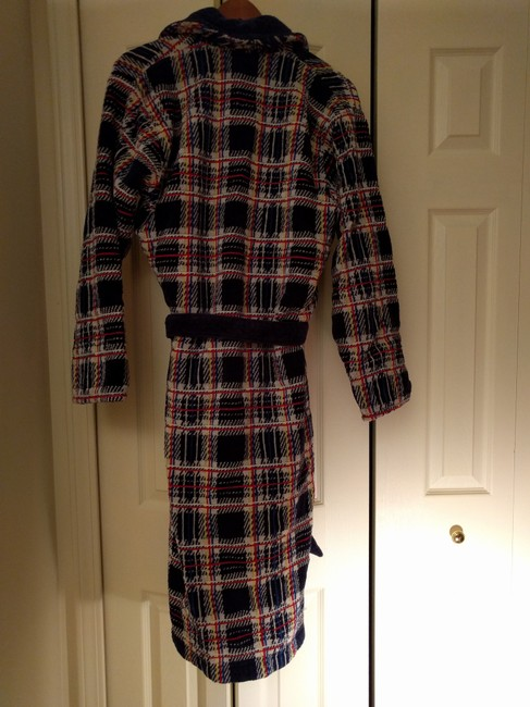 TJ Lawson Robe Terry Cloth Bath Robe Plush Coat