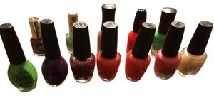 OPI -- RESERVED FOR KAYTEE -- Nail Polish Lot