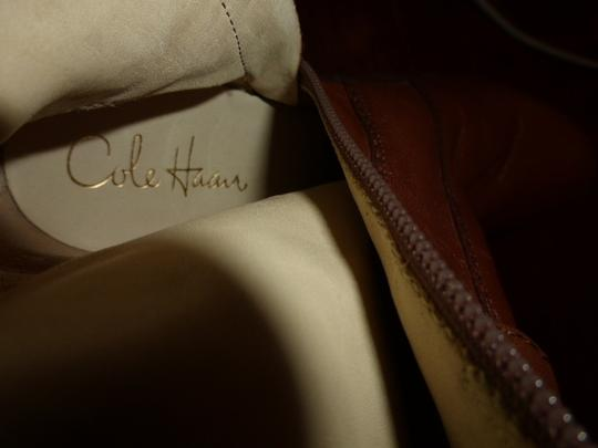 Cole Haan BROWN LEATHER Boots