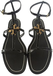 Tory Burch BLACK GOLD Sandals