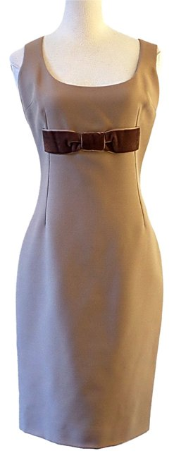 Preload https://item4.tradesy.com/images/dolce-and-gabbana-brown-sheath-mid-length-workoffice-dress-size-6-s-10440148-0-2.jpg?width=400&height=650