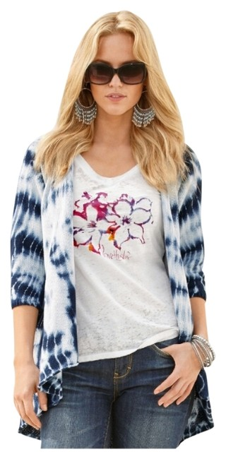 Preload https://img-static.tradesy.com/item/10440610/boston-proper-tie-dye-flyaway-cardigan-navy-multi-sweater-0-1-650-650.jpg