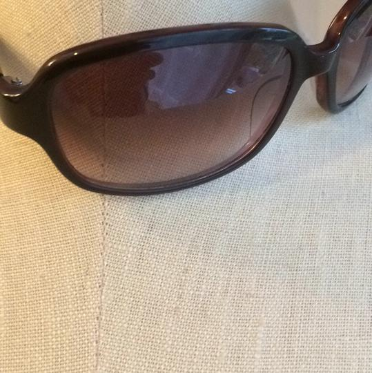Cole Haan Brown Oversized Frame