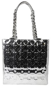 Marc by Marc Jacobs Tote in Metallic Silver