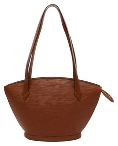 Louis Vuitton Saint Jacques Epi Shopping Large Tote Shoulder Bag