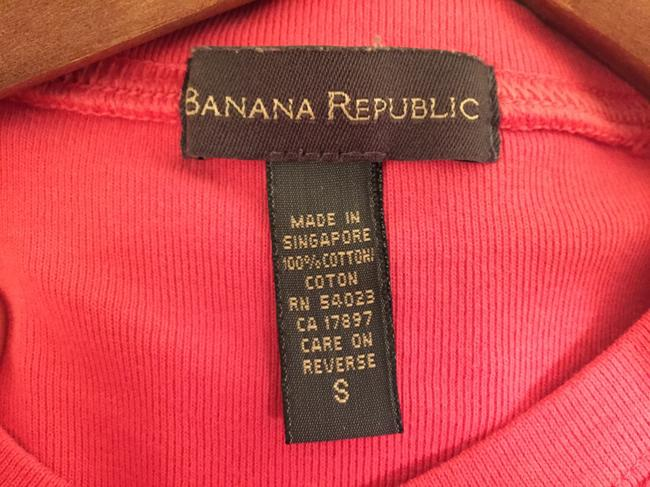 Banana Republic Cotton T-shirt T Shirt Pink