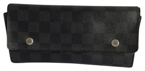Louis Vuitton Graphite Damier Long Wallet