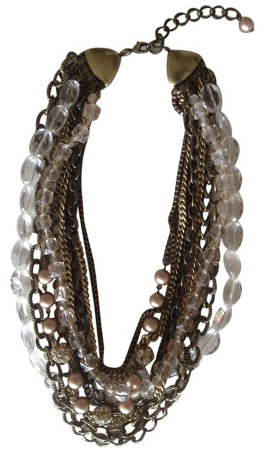 Nordstrom Gold Multi Chain Necklace Nordstrom Gold Multi Chain Necklace Image 1