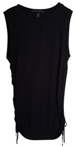 Banana Republic short dress Black Sleeveless T-shirt on Tradesy