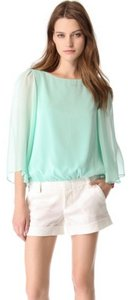Alice + Olivia Top green