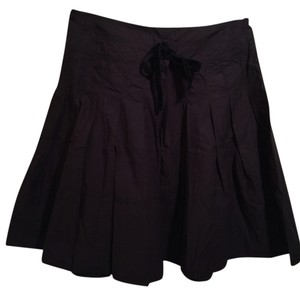 Polo Ralph Lauren Full Pleated Mini Skirt Black