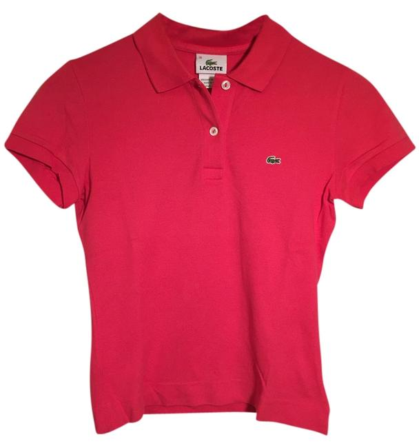 Preload https://item4.tradesy.com/images/lacoste-pink-cotton-collared-polo-button-down-top-size-2-xs-10441723-0-1.jpg?width=400&height=650