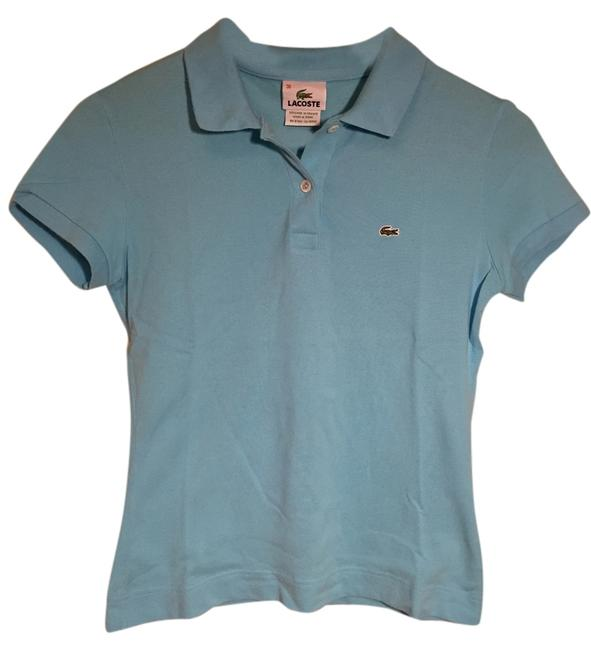 Preload https://img-static.tradesy.com/item/10441879/lacoste-sky-blue-pique-cotton-polo-collared-shirt-button-down-top-size-2-xs-0-1-650-650.jpg