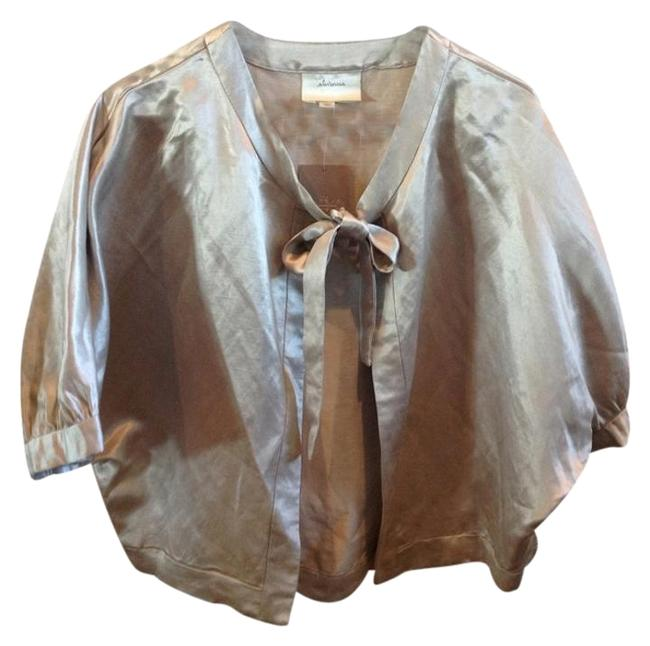 Preload https://item3.tradesy.com/images/elevenses-silver-anthropologie-spring-jacket-size-2-xs-10441927-0-2.jpg?width=400&height=650