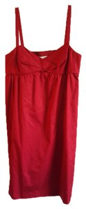 Ann Taylor LOFT short dress Cranberry Side Pockets on Tradesy