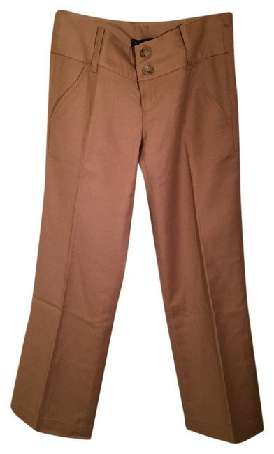 Banana Republic Wool Trousers Boot Cut Pants Camel