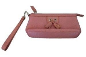 Isabella Fiore Wristlet in Pink