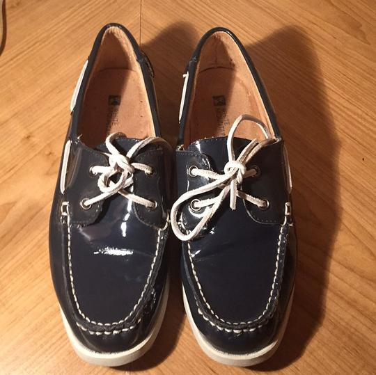 White Mountain Navy Blue Flats