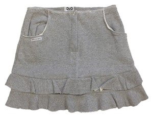 Dolce & Gabbana Mini Skirt Grey