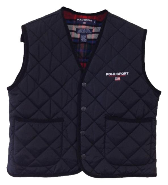 Preload https://img-static.tradesy.com/item/1044354/polo-sport-black-and-plaid-ralph-lauren-quilted-flannel-lined-vest-size-8-m-0-0-650-650.jpg