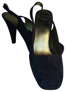 Marc Fisher Suede Slingbacks Size 7 Brown Pumps