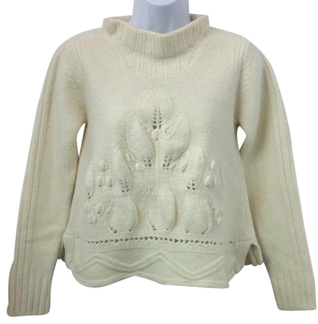 Preload https://item3.tradesy.com/images/creme-knit-wool-blend-sweaterpullover-size-12-l-10444012-0-1.jpg?width=400&height=650