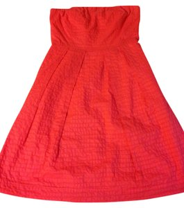 J.Crew short dress Salmon/pink/orange on Tradesy