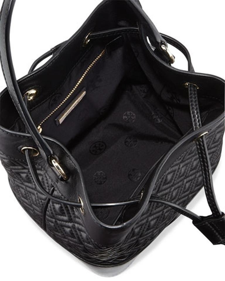 2920c3db31e Tory Burch Marion Marion Bucket Mini Bucket Bucket Bucket Marion Quilted  Mini Bucket Leather Leather Leather. 1234567891011