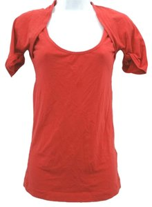 Theory Cotton Tee Top RED