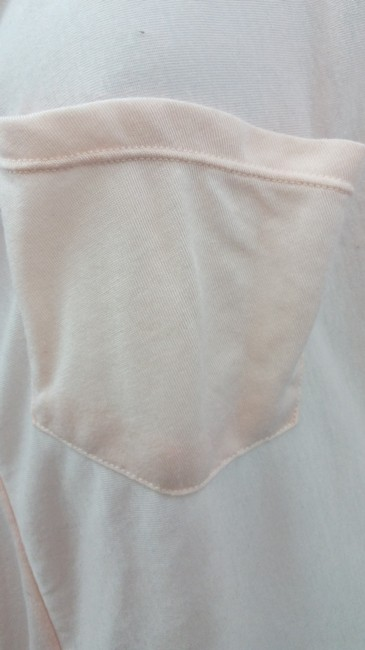 A|X Armani Exchange Pink Tee Cotton Petite Top