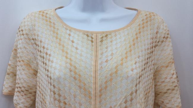 Escada Knit Top BEIGE