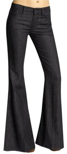 7 For All Mankind The Rachel Bell-bottom Wide-legged Wash Trouser/Wide Leg Jeans-Dark Rinse