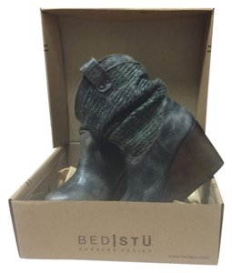 Bed|Stü Blackish gray Boots