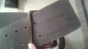 Ivan Grundahl Ivan Grundahl Brown Leather Belt