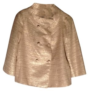 Talbots cream/ gold Jacket