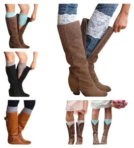 Other White Lace Boot Cuffs