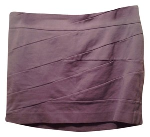 Express Mini Skirt Beige/Mauve