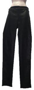 Graham & Spencer Leather Skinny Pants Black