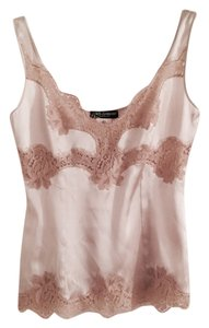 Dolce&Gabbana Dolce And Gabbana Classic Lace Top Beige