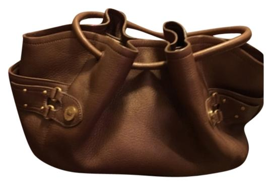 Preload https://img-static.tradesy.com/item/10446511/cole-haan-bronze-leather-tote-0-1-540-540.jpg