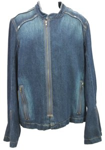 Joie Blue Cotton Denim Jeans Jacket