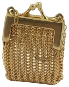 Charm Hand Bag 14K Yellow Gold 9gr. Charm Hand Bag
